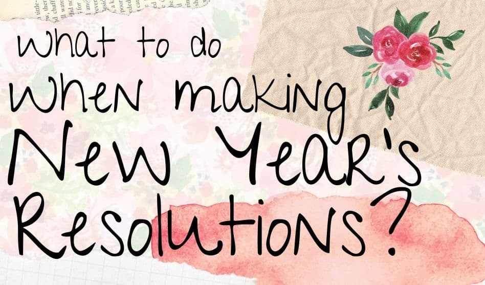 Make unrealistic goals happen new years resolution template