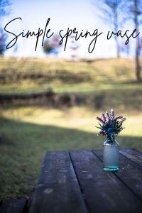 spring decor easy