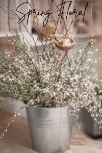 spring decor rustic