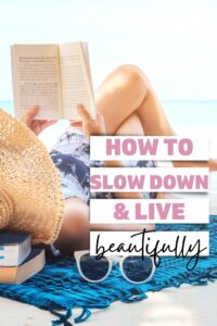 Slow things down